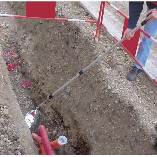 Espejo de inspección Vumax 323 - Ø 300 mm