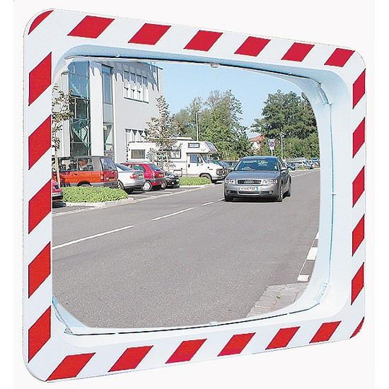 Espejo vial en acero inoxidable Vialux 856 - 800x600 mm