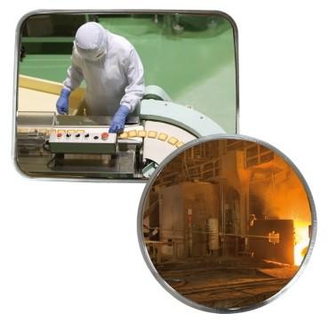 Espejo para entornos desfavorables 816 - Ø 600 mm