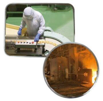 Espejos en Inox para Entornos Desfavorables
