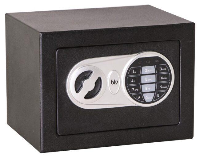 Caja de seguridad Btv Minibak Negra