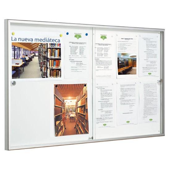 Vitrinas de información para interior serie Allure