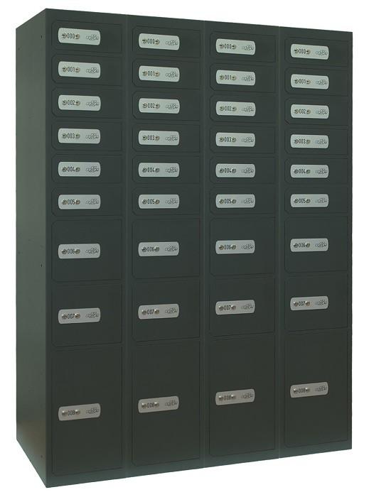 Compartimentos de seguridad Serie C100