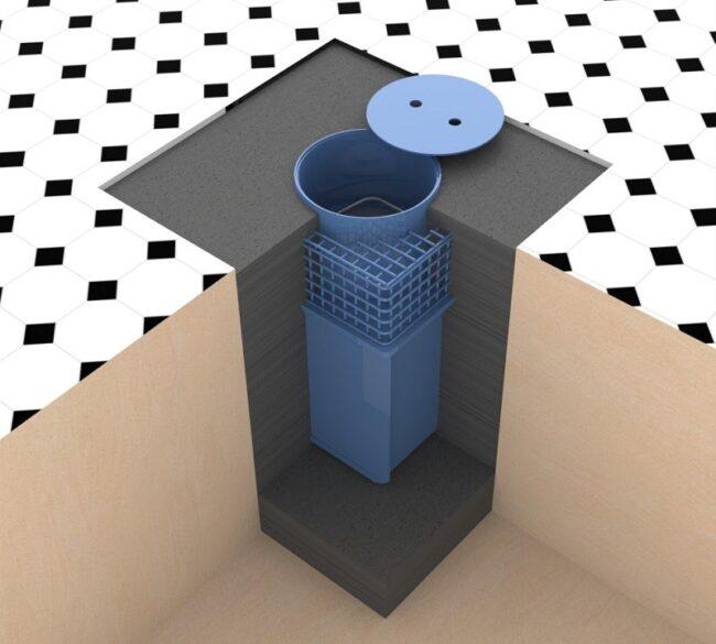 Caja fuerte de suelo Olle CFC-2