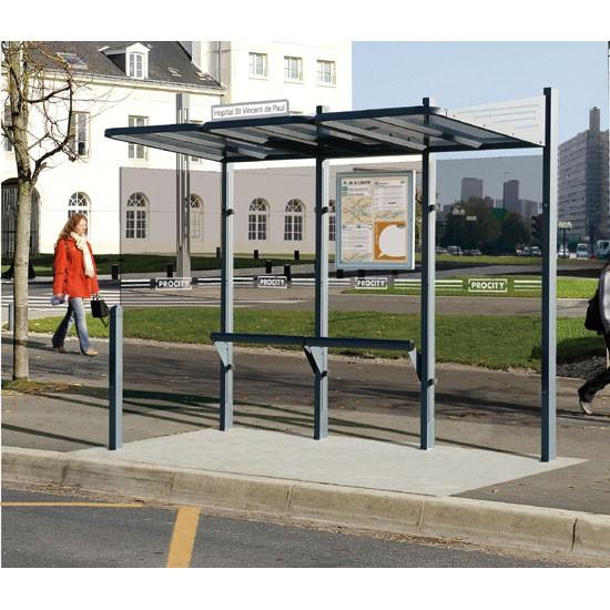 Marquesinas de parada de autobús serie Conviviale