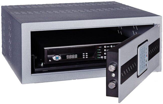 Caja de seguridad para videograbador DVR, electrónica