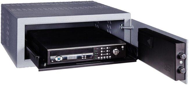 Caja de seguridad para videograbador DVR