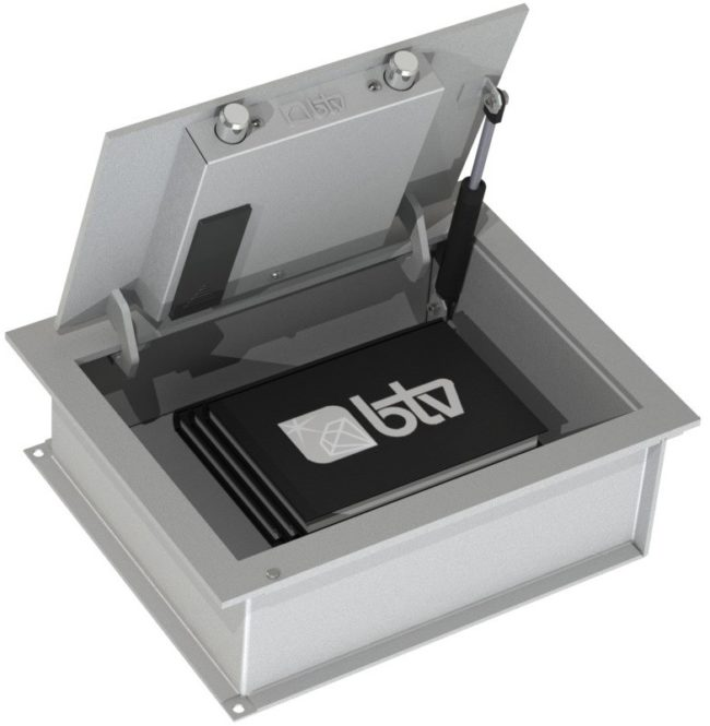 Caja fuerte de suelo CSE-270