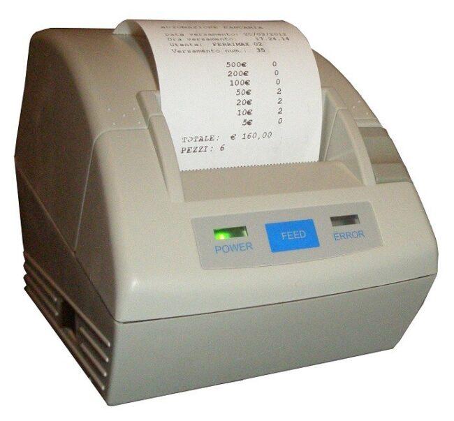 Sistema de ingresos con validador de billetes Loris