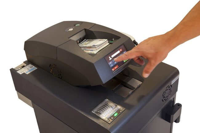 Ingresador Gunnebo SafeCash Retail Deposit High Speed, SCRD High Speed
