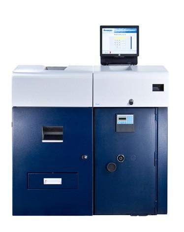 Sistema de gestión reciclador de efectivo Gunnebo SafeCash Retail SCR