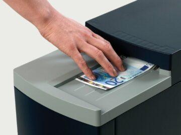 Reciclador de billetes para sistema de ciclo cerrado Gunnebo SafePayNR2