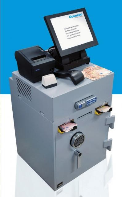 Ingresador Gunnebo SafeCash Retail Deposit Smart Mini, SCRD Smart Mini