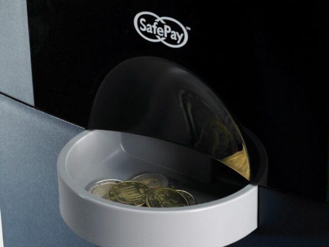 Reciclador de monedas para ciclo cerrado de efectivo Gunnebo SafePay