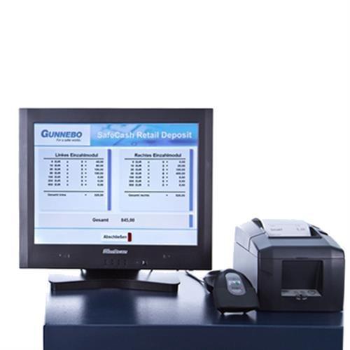Sistema de gestión y reciclador de efectivo Gunnebo SafeCash Retail SCR