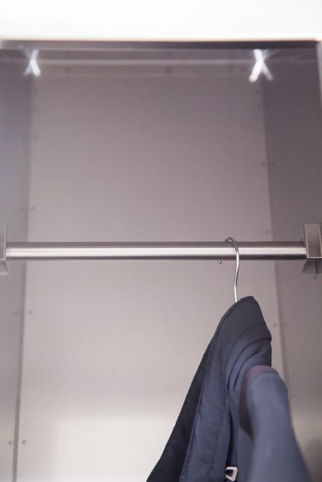 Taquillas en acero inoxidable Serie Inox SV - 1 puerta