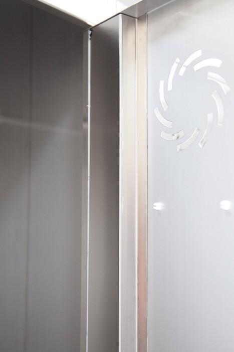 Taquillas en acero inoxidable Serie Inox ST - 2 puertas