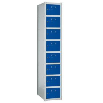 Taquillas metálicas modulares de 8 puertas por columna AZ