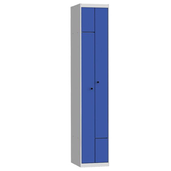 Taquillas metálicas modulares de 2 puertas en L por columna AL