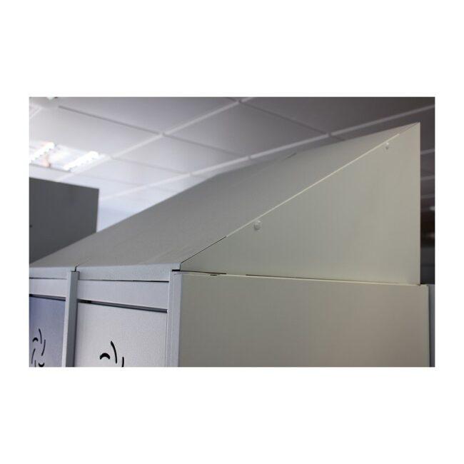 Taquilla metálica modular de 1 puerta AV, 1 columna