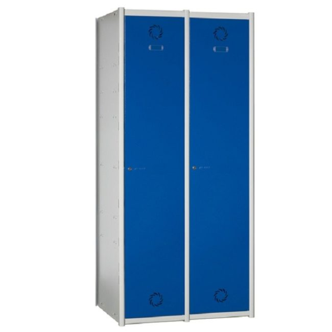 Taquilla metálica modular de 1 puerta AV, 2 columnas