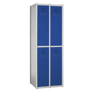 Taquilla metálica modular de 2 puertas AT, 2 columnas