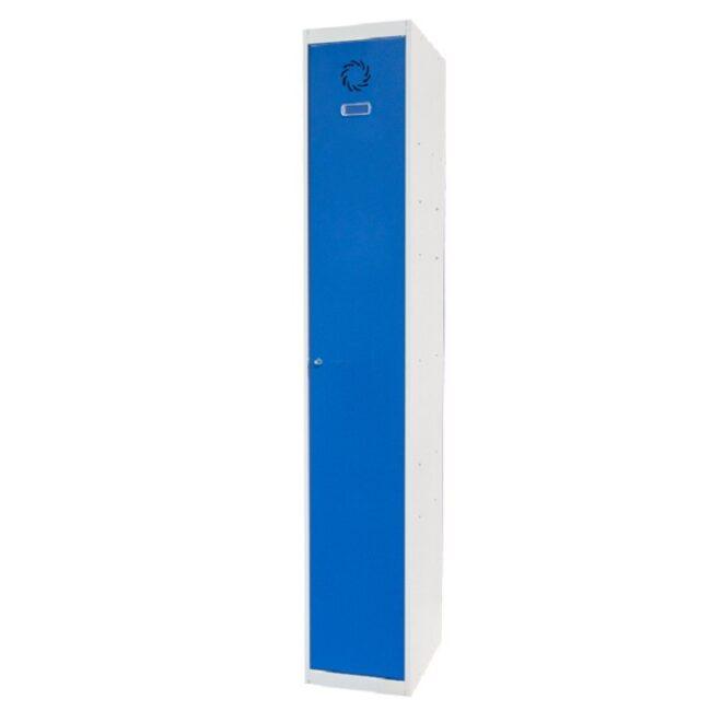 Taquilla metálica modular de 1 puerta ECOV, 1 columna