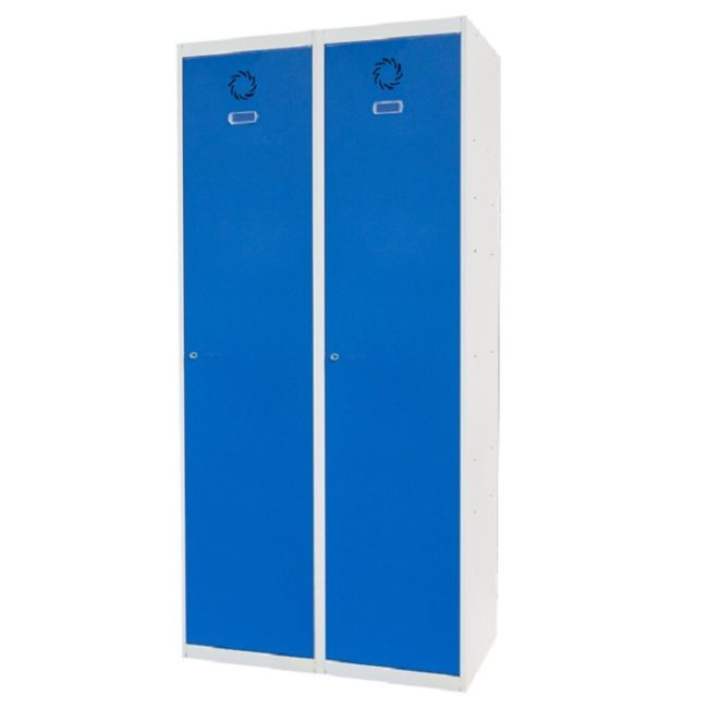 Taquilla metálica modular de 1 puerta ECOV, 2 columnas