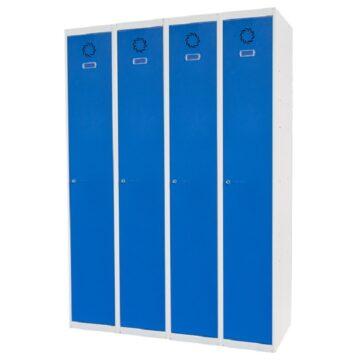 Taquilla metálica modular de 1 puerta ECOV, 4 columnas