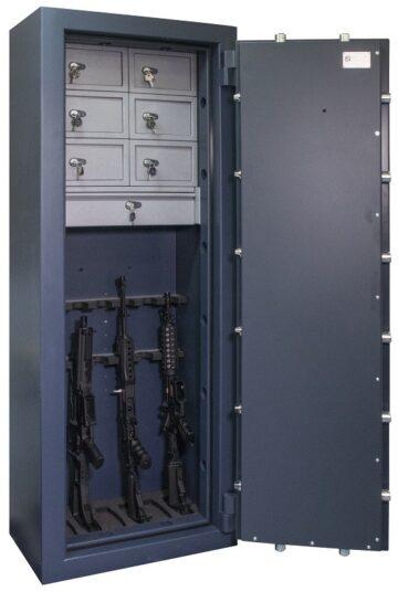 Caja fuerte Athenas 175, ejemplo de configuración interior