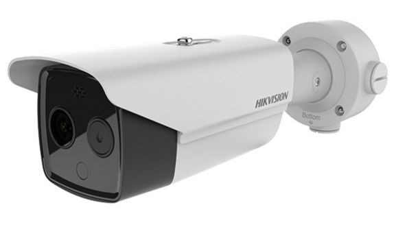 Cámara térmica IP Bullet Hikvision